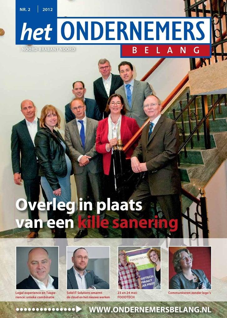 Magazine Het Ondernemersbelang Noord Brabant Noord 0212