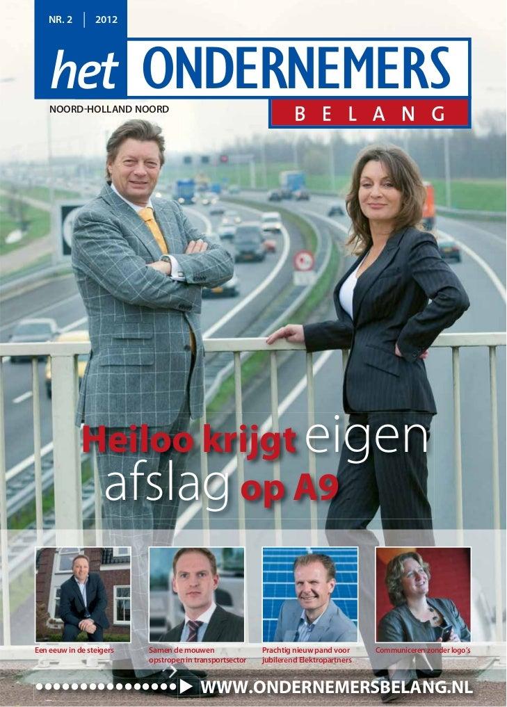 Magazine Het Ondernemersbelang Noord Holland Noord 0212