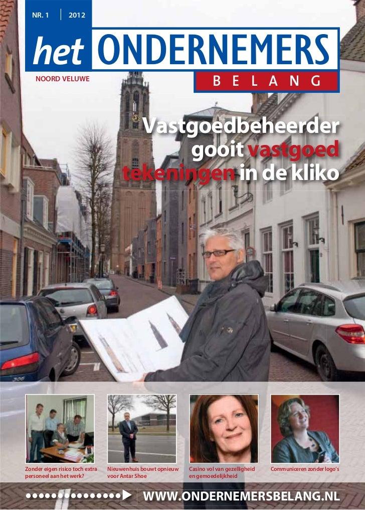 Magazine Het Ondernemersbelang Noord Veluwe 0112