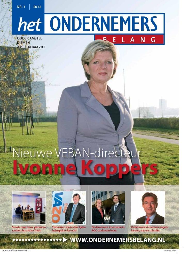Magazine Het Ondernemersbelang Ouder Amstel  01 2012
