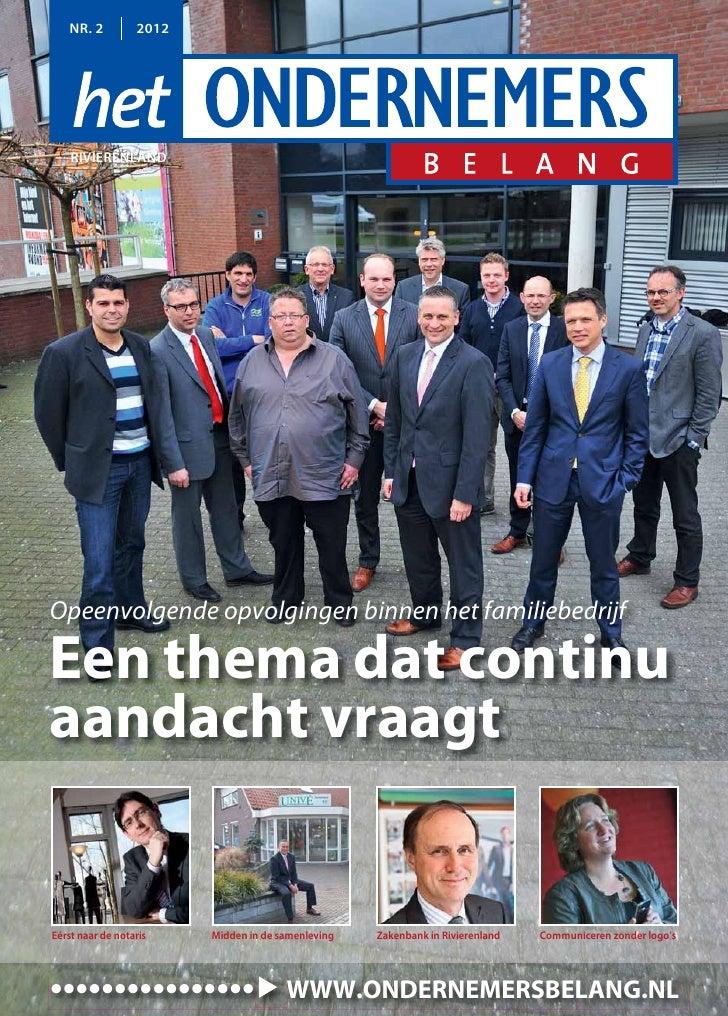 Magazine Het Ondernemersbelang Rivierenland 0212