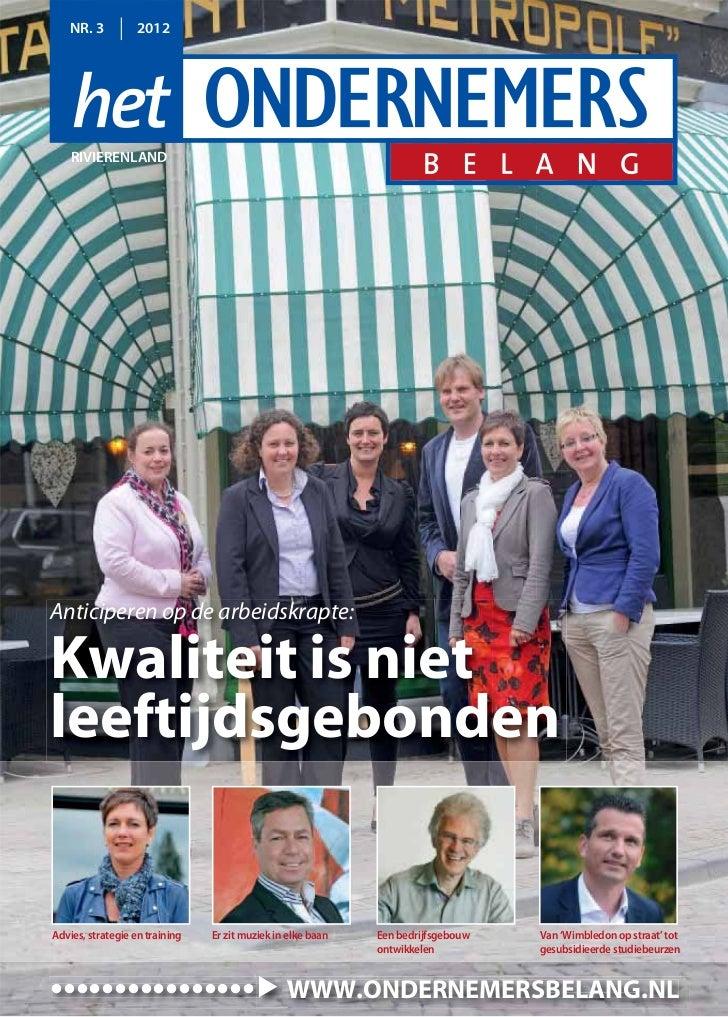 Magazine Het Ondernemersbelang Rivierenland 0312