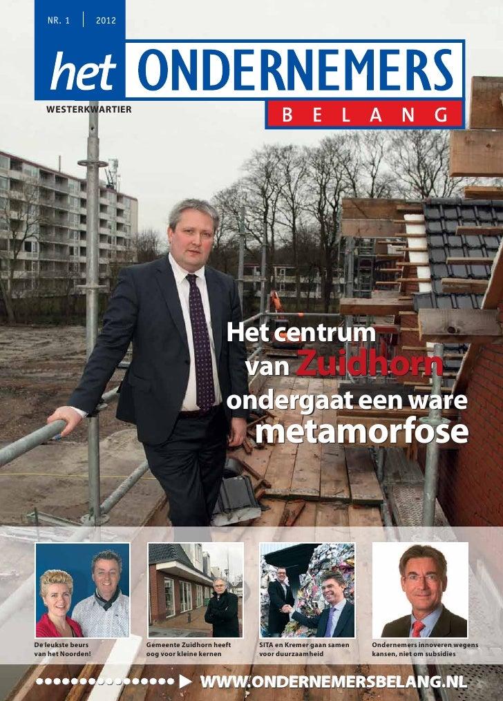Magazine Het Ondernemersbelang Westerkwartier 0112