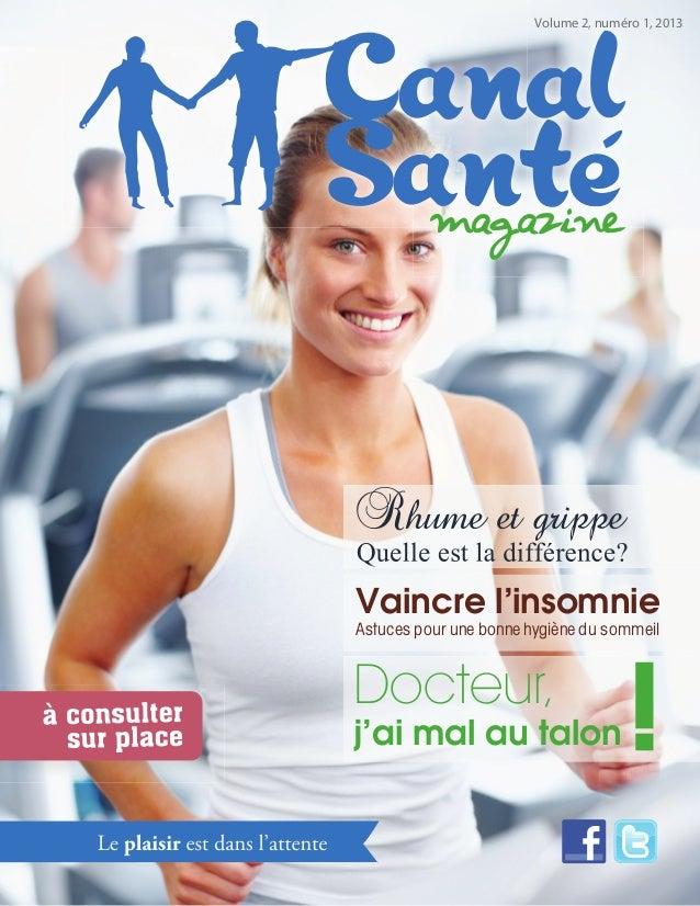 Canal Santé Magazine - Février 2013