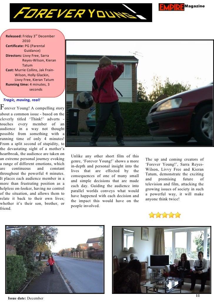 Magazine   Released: Friday 3rd December              2010   Certificate: PG (Parental               Guidance)   Directors...