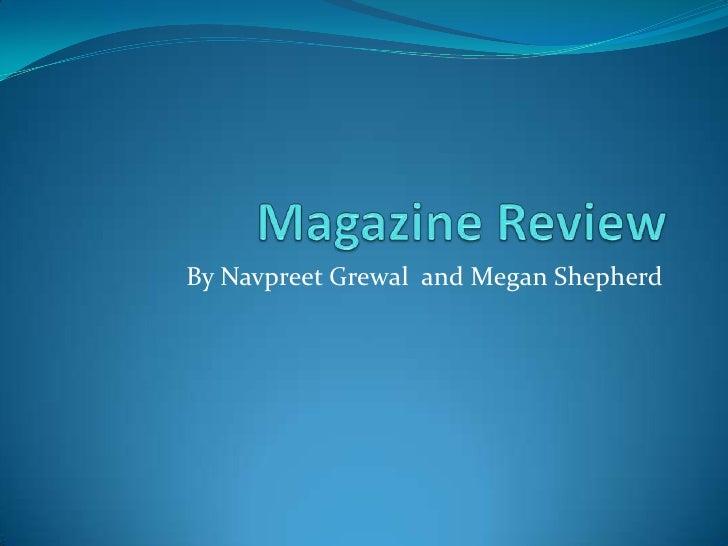 Magazine review 2