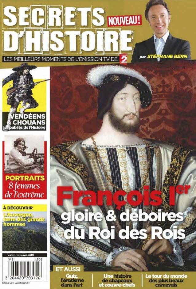 Magazine secrets d histoire n.3   fevrier-mars-avril 2013