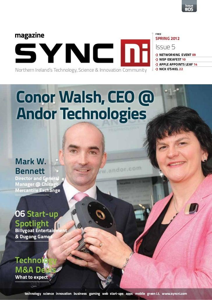 SyncNI Magazine Spring 2012