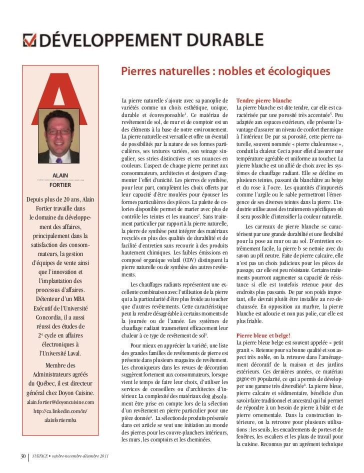 A                                                  Pierres naturelles : nobles et écologiques                             ...