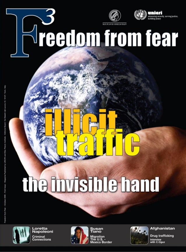 Freedom fron Fear October 2008 First Issue. Magazine published by UNICRI and MPI