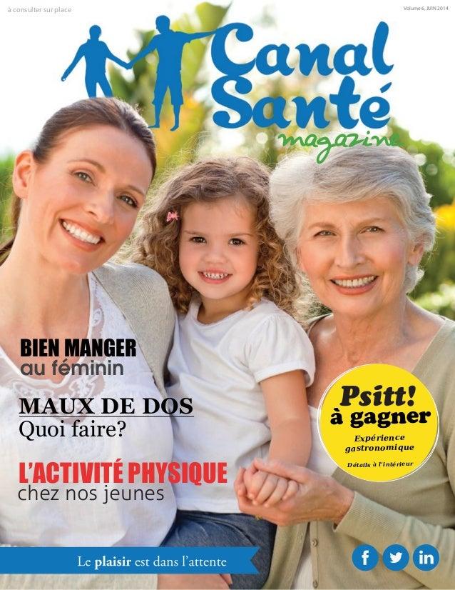 Canal Santé Magazine - Juin 2014