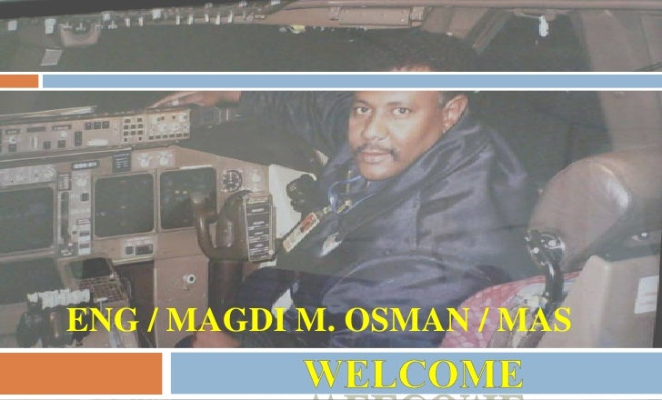 Eng / Magdi m. osman / mas<br />WELCOME<br />