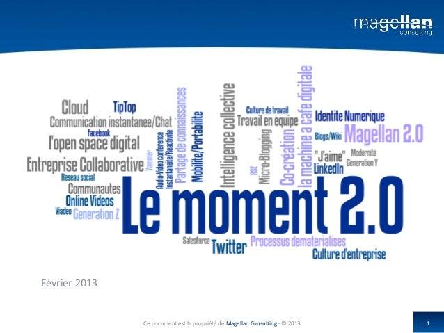 Février 2013               Ce document est la propriété de Magellan Consulting - © 2013   1