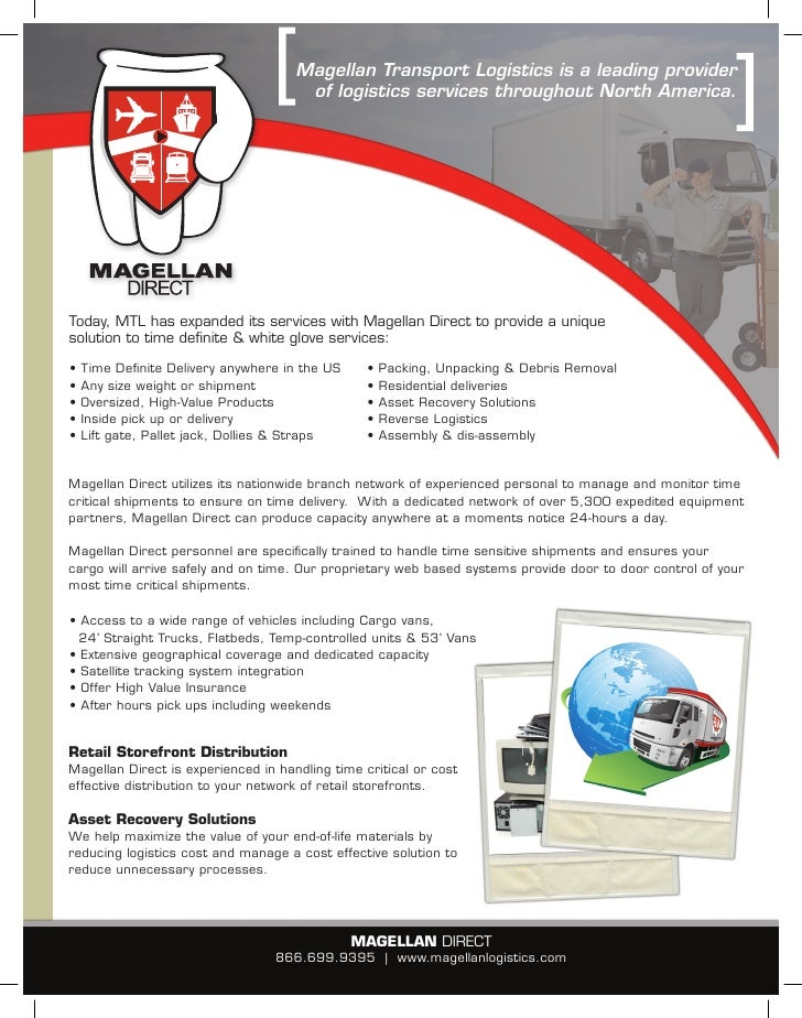 Magellan Direct Brochure