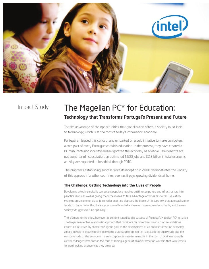 Impact Study   The Magellan PC* for Education:               Technology that Transforms Portugal's Present and Future     ...
