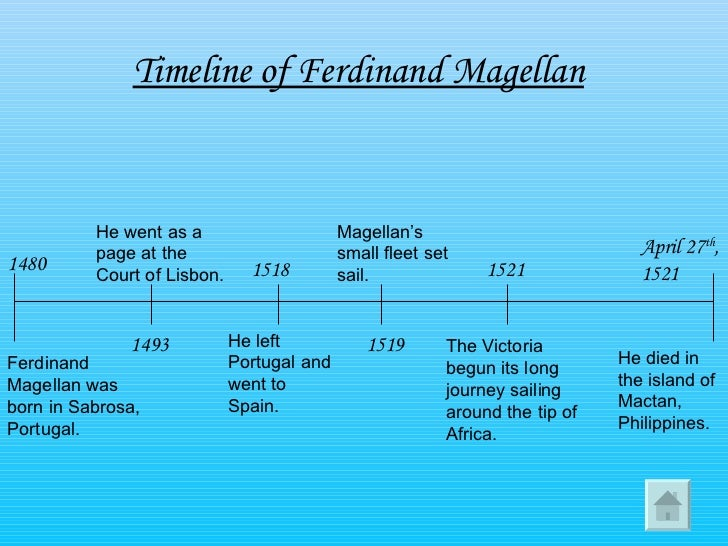 the life expedition and death of ferdinand magellan Ferdinand magellan was a portuguese explorer who organised the  members  of his expedition became the first europeans to reach the  with indigenous  peoples during the rest of the voyage.