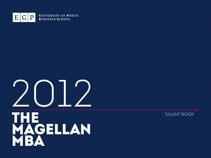 2012THE        TALENT BOOKMAGELLANMBA