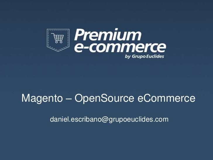 Magento - Premium eCommerce