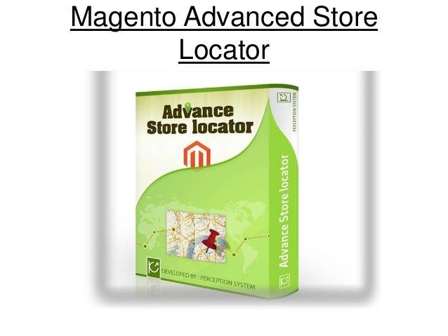 Magento Advanced Store Locator
