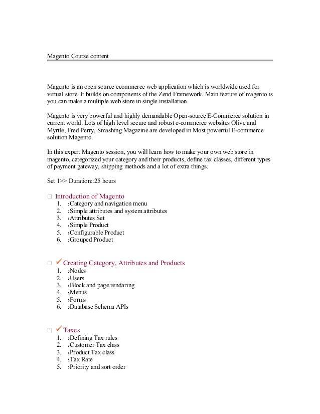 Magento Online Training in Hyderabad, Bangalore, India, UK, USA contact United Global Soft