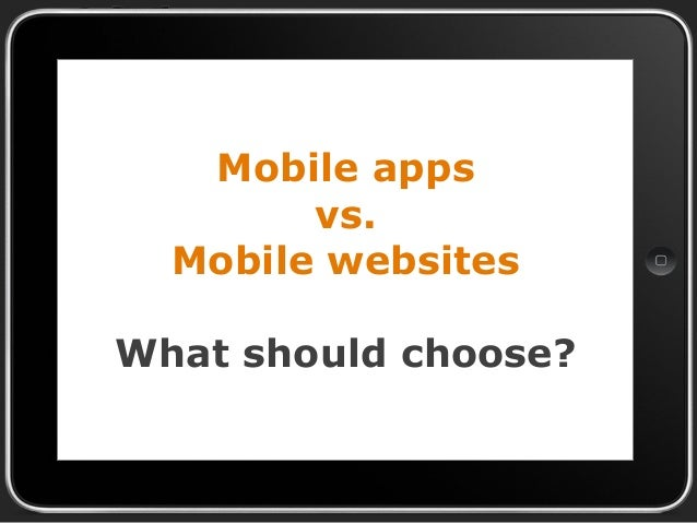 Magento mobile app - Mobile apps and mobile websites comparison