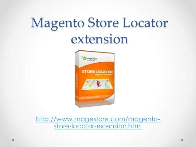 Magento Store Locator
