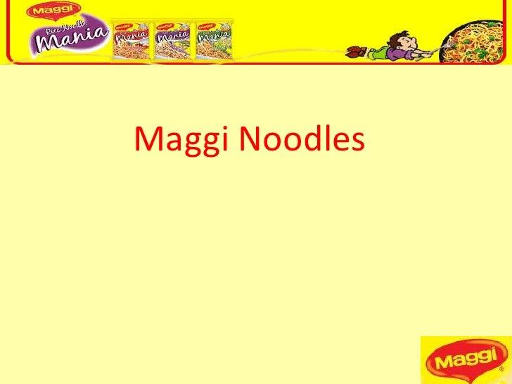 Maggi Noodles<br />