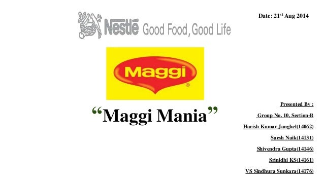 comparative study of noodles brand in A baylor university and harvard study published in the journal of nutrition found lead contamination in nestlé's maggi brand instant noodles containing 7.