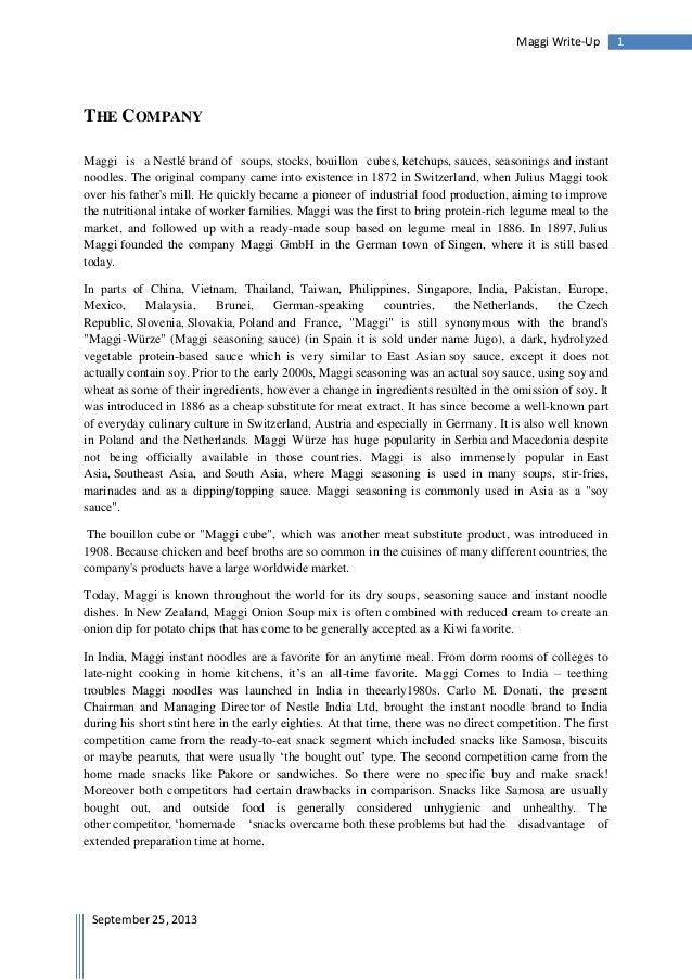 A write-up on maggi_amitesh singh yadav