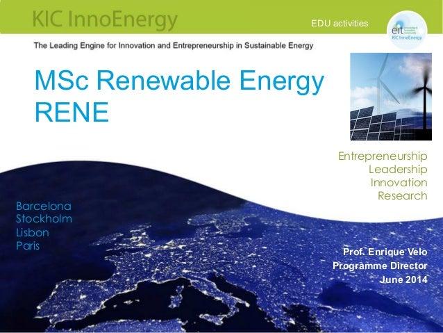 Maghrenov workshop-on-capacity-building-eu-m sc-renewable-energy-rene