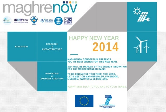 Maghrenov best wishes 2014