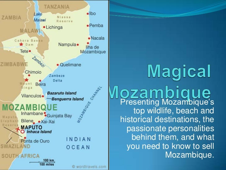 Magical Mozambique<br />Presenting Mozambique's top wildlife, beach and historical destinations, the passionate personalit...