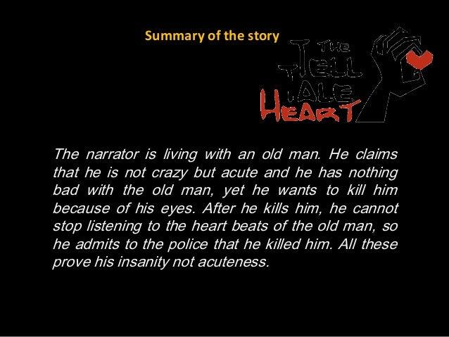 the tell tale heart short summary