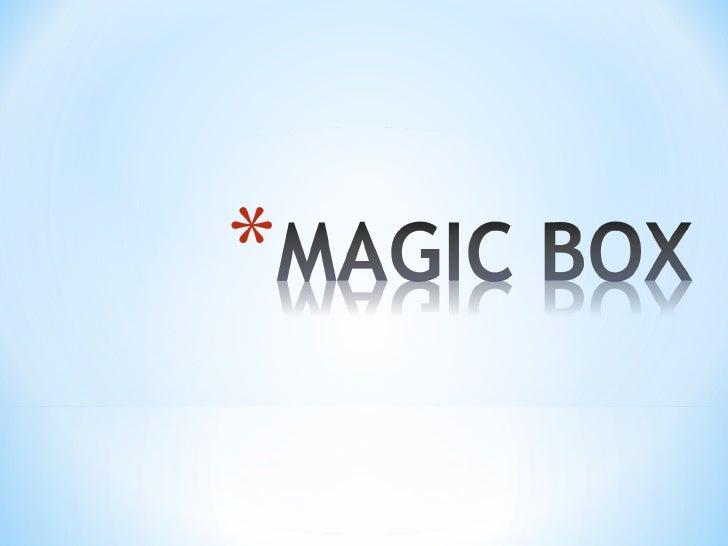 Magic boxoppositesandlistening
