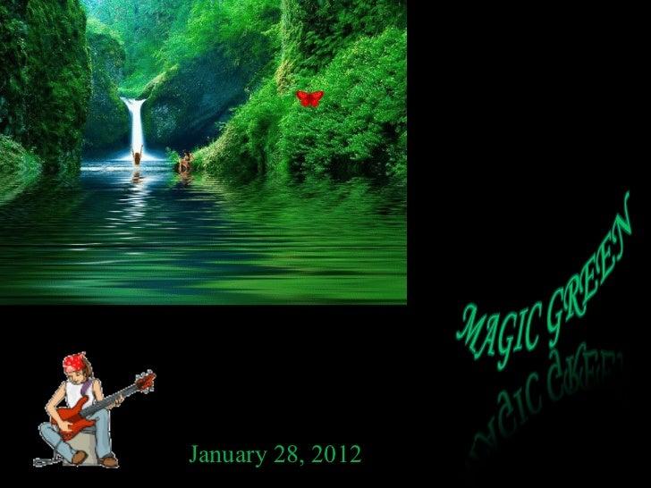 Magic GREEN  Emanuela Atanasiu (nx power-lite)