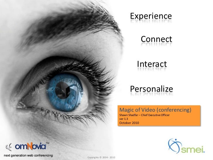 Magic of Video Conferencing