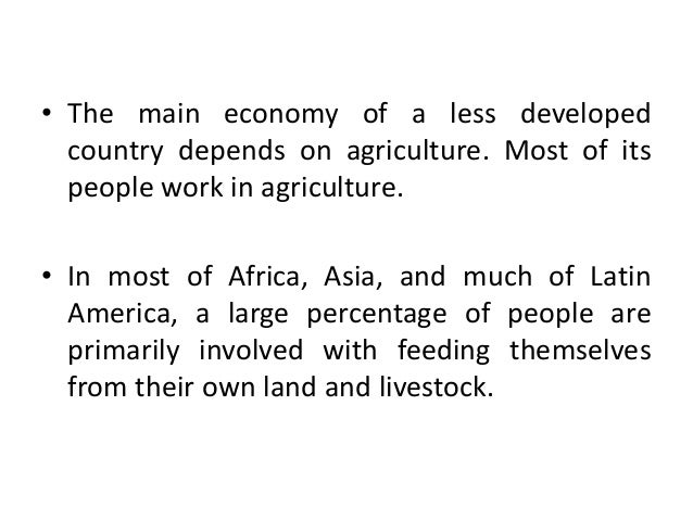 Poor nations (third world countries) can progress without the assistance of G-8 or developed countries/nations?