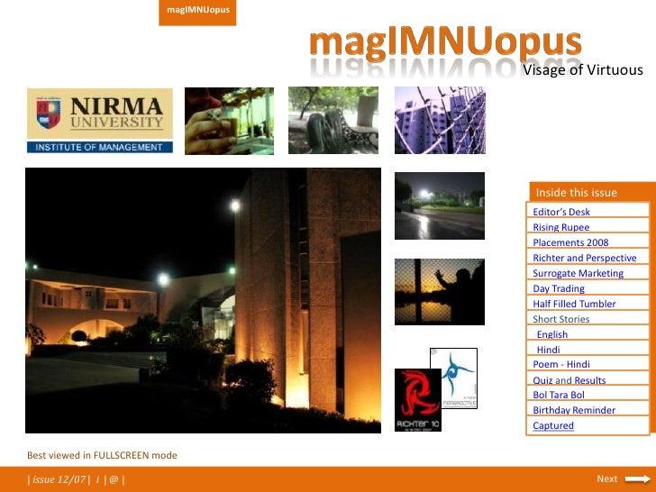 MagIMNUopus_ Dec2007