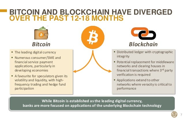BitCoin And BlockChain Have Diverged
