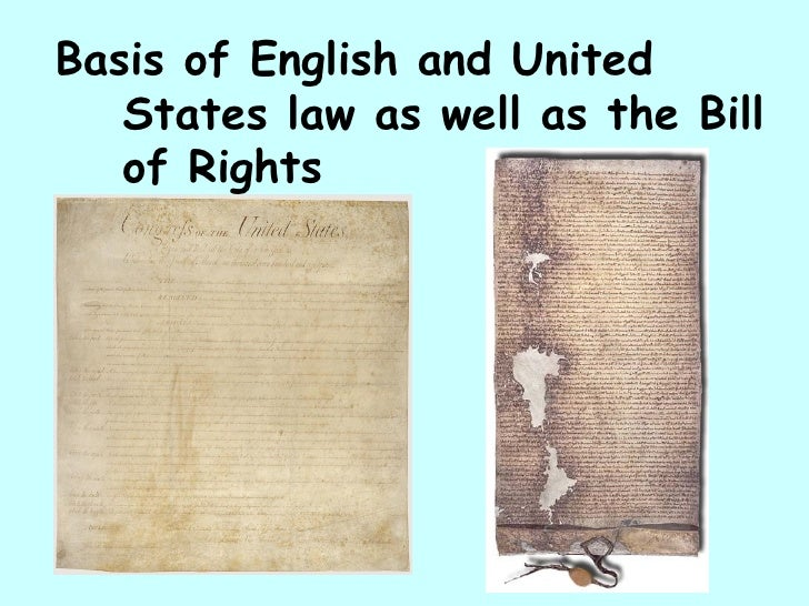 an analysis of the impact of the magna carta in the united states It will also identify the purpose that magna carta served when it was adopted in england and when the colonists brought it to america finally.