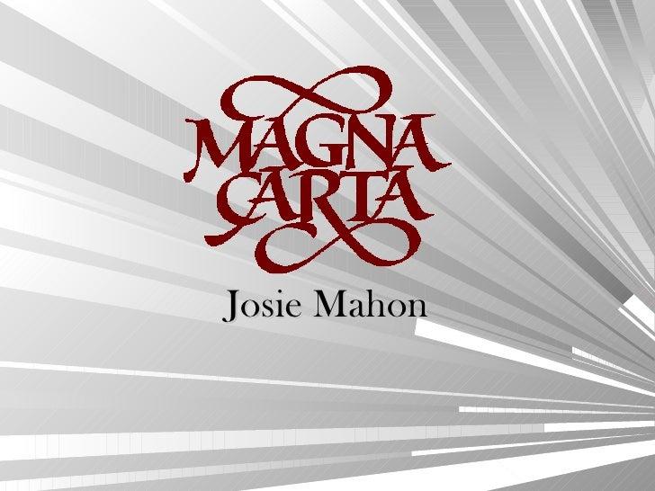 Josie Mahon