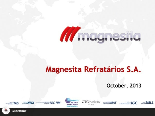 Magnesita institutional outubro 13 eng