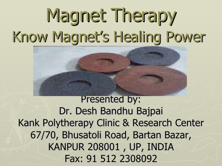 Magnet Therapy : Know the healing power of Magnets