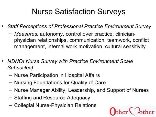 nurse satisfaction with nursing leadership [nursing motivation leadership] municipal hsiao-kang hospital & graduate institute of nursing be expected that increasing nurse satisfaction.