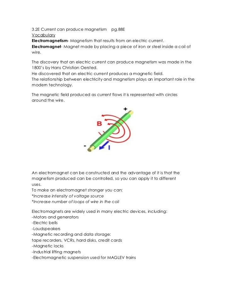 Magnetism notes