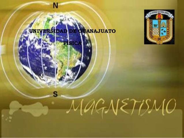 UNIVERSIDAD DE GUANAJUATO         FÍSICA
