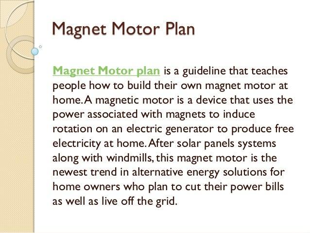 Magnet motor plan for How to make free energy magnet motor