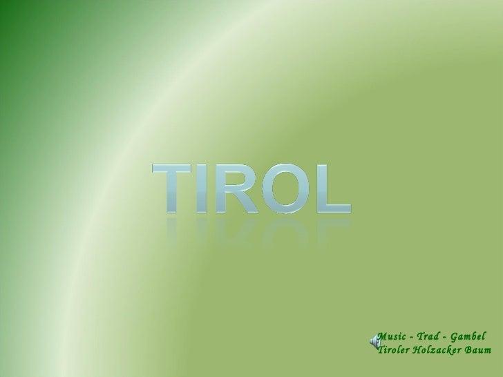 Music - Trad - Gambel Tiroler Holzacker Baum