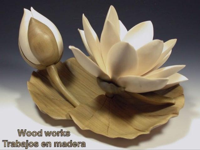 Magnifiques créations en bois