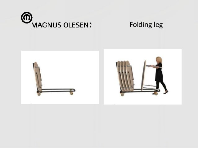 Folding leg